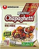 Nong Shim Instantnudeln Chapaghetti - Traditionelles koreanisches Nudelgericht - Instantnudeln - schnelle Zubereitung - 20er Vorteilspack à 140g