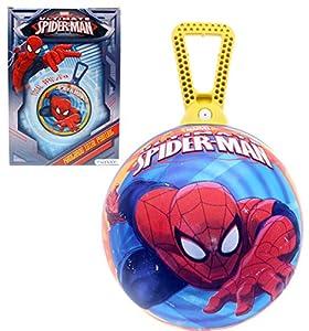 Spiderman - Saltador Kangaroo, decoración 360º, 45 cm (Mondo 6962)