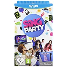 SiNG PARTY with Wii U Wired Microphone