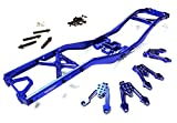 Integy RC Model Hop-ups C26371BLUE Alloy Ladder Frame Chassis Kit for Axial 1/10 SCX-10, Dingo, Honcho & Jeep