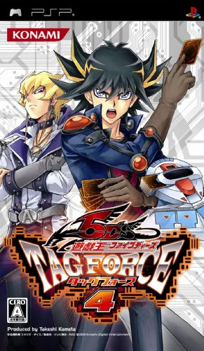 Yu-Gi-Oh! 5D's Tag Force 4[Japanische Importspiele] (Oh Yu Tag Psp Gi Force)