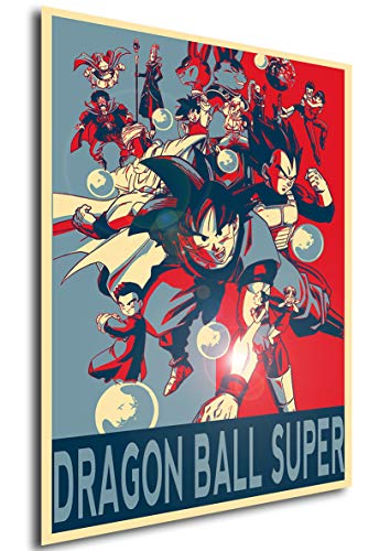 Instabuy Poster Dragon Ball Super Propaganda Personajes - A3 (42x30 cm)