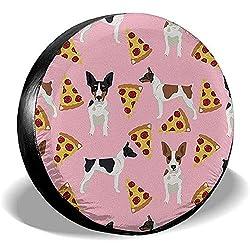 Dem Boswell Reserverad Reifen Abdeckung Rat Terrier Hund Trinkwasser Polyester Universal Wasserdicht Staubdicht Sonnencreme Universal Fit