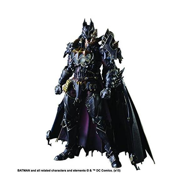 Square Enix DC Comics Variant Play Arts Kai Batman Action Figure (Steampunk Version) by 1