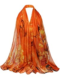 5 ALL Echarpe Foulard Femme Impression Anti uv Coloré En Soie Grand Coton  Foulard Soie Chale 4bfc16cc293