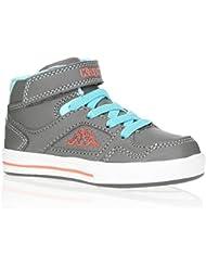 KAPPA Baskets Alphor Velcro Chaussures Bébé Fille Gris Fille 22