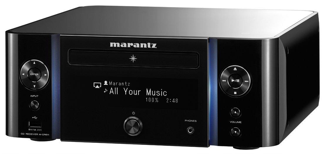 51ziOMnKXOL - Marantz M-CR611 Melody Media Network CD Receiver with DAB/DAB+ - Black