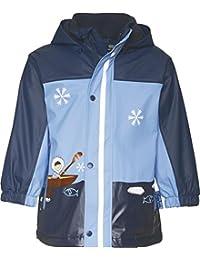Playshoes Jungen Regenmantel Regen-Jacke Eskimo