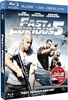 Fast & Furious 5 [Combo Blu-ray + DVD] (B004ZCUFPY) | Amazon price tracker / tracking, Amazon price history charts, Amazon price watches, Amazon price drop alerts