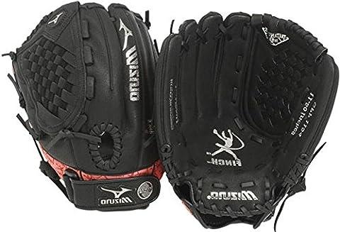 Mizuno Prospect Serie gpp1154Youth Fastpitch Handschuh, schwarz