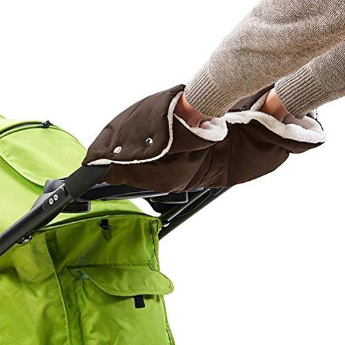 SODSIM Kinderwagen Handwärmer Baby Kinderwagen Handschuhe Wasserdicht Kinderwagenmuff Handmuff für Buggy Winddicht