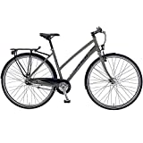 28 Zoll Crossrad Fuji Absolute City 1.5 ST Urban Damenfahrrad , Rahmengrösse:53 cm, Farbe:Gloss Gray