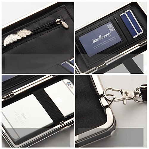 Portafogli da Donna Borsa con Foglia d'albero, Sunroyal Multifunzionale [Grande capacità] Smartphone Wristlet Custodia Case Cover per Sony Xperia XA1, Sony xperia x compact, Sony xperia xz premium, So Modello 10