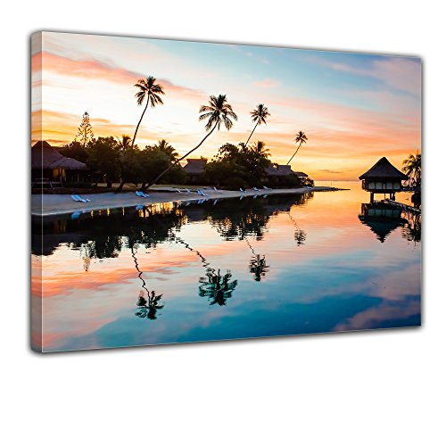 bilderdepot24-wall-art-canvas-picture-tropical-sunset-ii-3150-inch-x-2362-inch-gallery-wrapped-direc