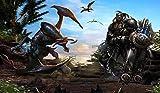 NNKKBH Personnaliser Fond D'Écran Photo 3D Fond D'Écran De Fond D'Écran De World Of Warcraft En Ligne Pour Salon Papier Peint Non Tissé, 420Cm × 250Cm...