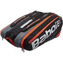 Babolat Rh X 12 Pure Fundas para Raquetas de Tenis, Unisex Adulto, Negro/Rojo, Talla Única