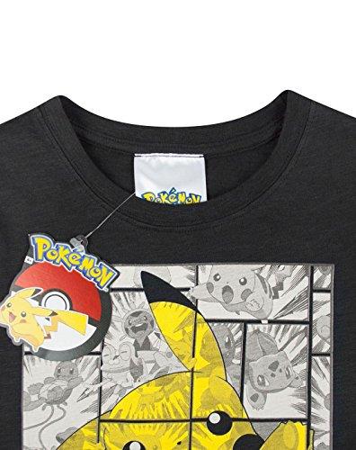 Pokmon-Pikachu-Grey-Panels-Boys-T-Shirt