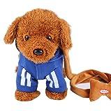 Elektronische Plüschtier Hund Fernbedienung Maschinen Pet-Blau / Seil