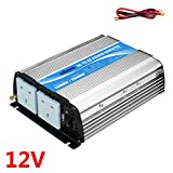 Power inverter 1000w DC 12V to AC 240V with AC outlet &2.4A USB Port for RV car homeuse Car Giandel