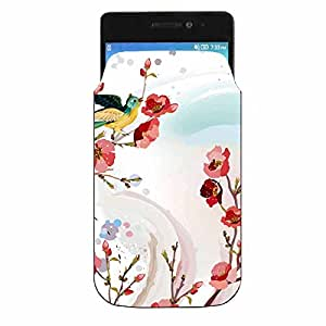 Lyf Water 11 Printed Pu Leather Designer Mobile Pouch by Youberry (Mobile Pouch)