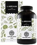 L-Arginin - Aktionspreis - 365 vegane Kapseln - Hochdosiert mit 4500 mg L-Arginin HCL (entspricht...