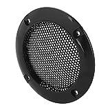 Mugast 2PCS Grilles de Haut-Parleur, Grille de Haut-Parleur de Protection Cover Système Audio Anti-Choc