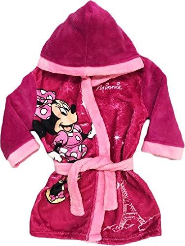 Disney Minnie Mouse - Albornoz con Capucha