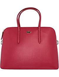Sac à main Lacoste reference NF1370CE couleur 280 - Tango Red
