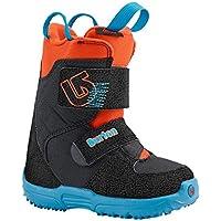 Burton Niño botas de Snowboard GROM Mini, color Azul - Webslinger Blue, tamaño 12