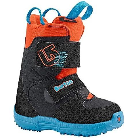 Niño botas de Snowboard Burton GROM Mini, color Azul - Webslinger Blue, tamaño 10