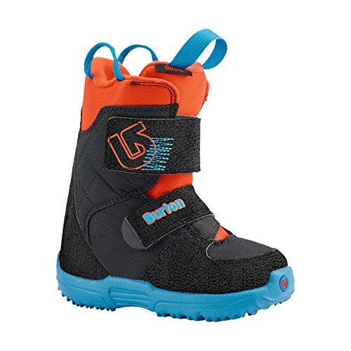 Burton Jungen Snowboardboots MINI - GROM, Webslinger Blue, 12, 10645101418 (Mini Burton)
