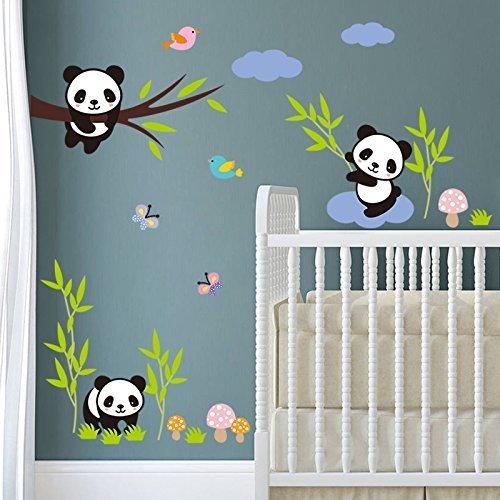 Miji Wand-Aufkleber Dekorative Selbstklebend Wandsticker Wandbilder für Wohnzimmer