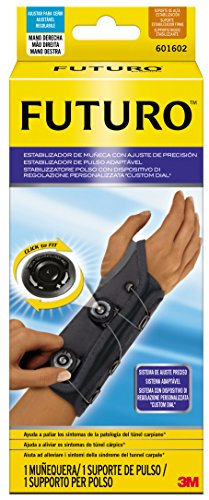 Futuro Schiene (Zukunft DCHA-Precision Fit Handgelenk Stabilisator, One size)
