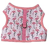 Best Four Paws Dog Harness For Cars - Pink Flamingo Soft Mesh Dog Harness Safe Harness Review