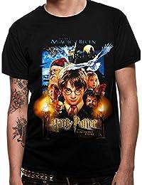 Harry Potter Sorcerers Stone Movie Poster, Camiseta Para Hombre
