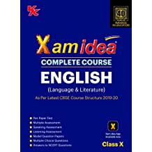 Xam Idea Complete Course English for CBSE Class 10 - 2020 Exam