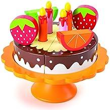 Small Foot 10167 - Torta di Compleanno in Legno