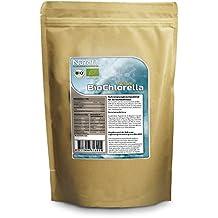 Nurafit BIO Chlorella Tabletten | rein natürlich | Algen Detox Presslinge | reich an Vitaminen, Mineralien und Spurenelementen | 1000g / 1kg Packung | 4000 Kapseln