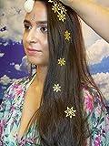 Hair und Body Tattoo temporäre Schmuck geprägt selbstklebender Designs 8Stück