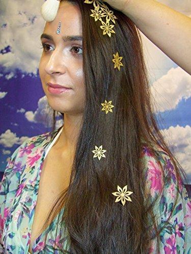 Cheveux et Corps Tatouage Temporaire Bijoux en relief Stickon Designs 8PC