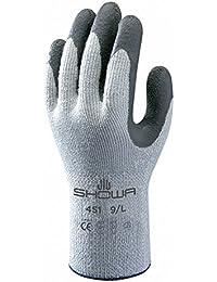 Showa Gants Sho451-m N ° 451Thermo Grip Gant, taille: M, gris/gris foncé