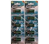 10 x 4LR44 4G13 PX28) 6v Alkaline BATTERY - 476A (L1325 Eunicell Vertrieb Deutschland 6v by Eunicell
