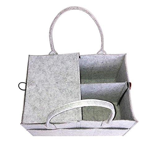 Bulary Kinder-Windelaufbewahrungstasche, Tasche, leicht, tragbar, multifunktional, Wickeltasche