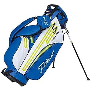 Titleist stadry Support Sac de golf imperméable Bleu/Citron Vert/Blanc
