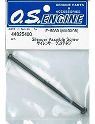 Silenciador Kumi tornillo vertical (M4.0 x 95) F-5030 44825400 (Jap?n importaci?n / El paquete y el manual est?n escritos en japon?s)