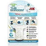 TubShroom - El protector de tubería de bañera revolucionario atrapador de pelo/filtro/colador blanco