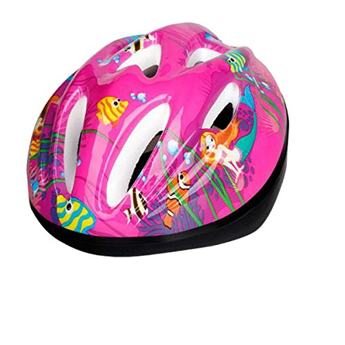 TZQ Kinder Schlittschuhlaufen Im Freien Helm,Pink-onesize