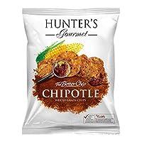 Hunter's Gourmet Whole Grain Corn Chips - Chipotle - 50gm
