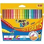 Bic Kids Visa Feutre de coloriage Cou...