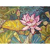 filigrane Verbinder als Lotusblume in antik kupferfarben 8 St/ück von Vintageparts DIY Schmuck Schmuckverbinder Lotus Lotusbl/üte